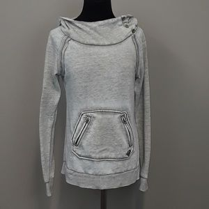 Roxy pull on style hoodie top size medium